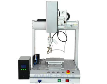 自动焊锡机器人焊锡作业精确稳定,误差比头发丝还小