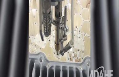 通讯滤波器专用自动焊锡机视频