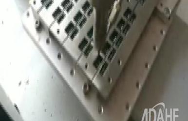 霍尔元件专用自动焊锡机视频