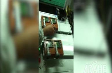 高频头F头专用自动焊锡机视频